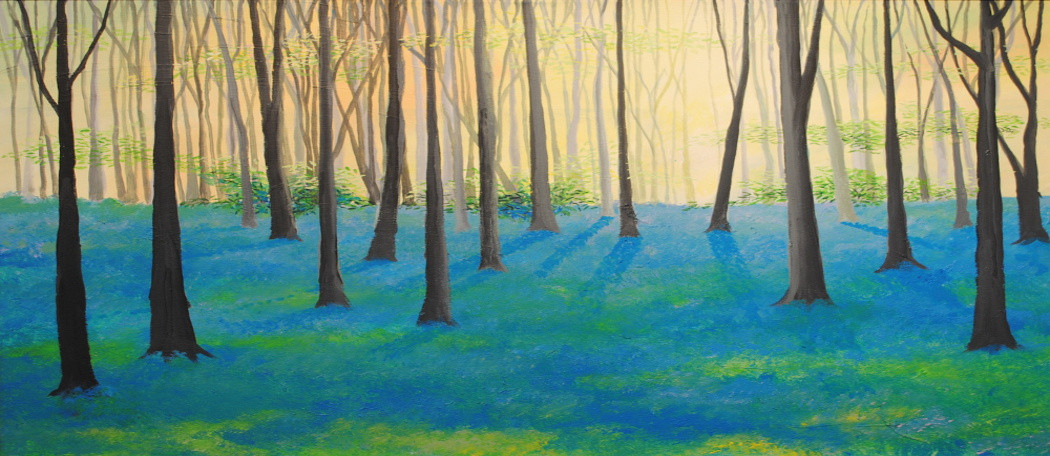 In The Bluebell Wood – Copy